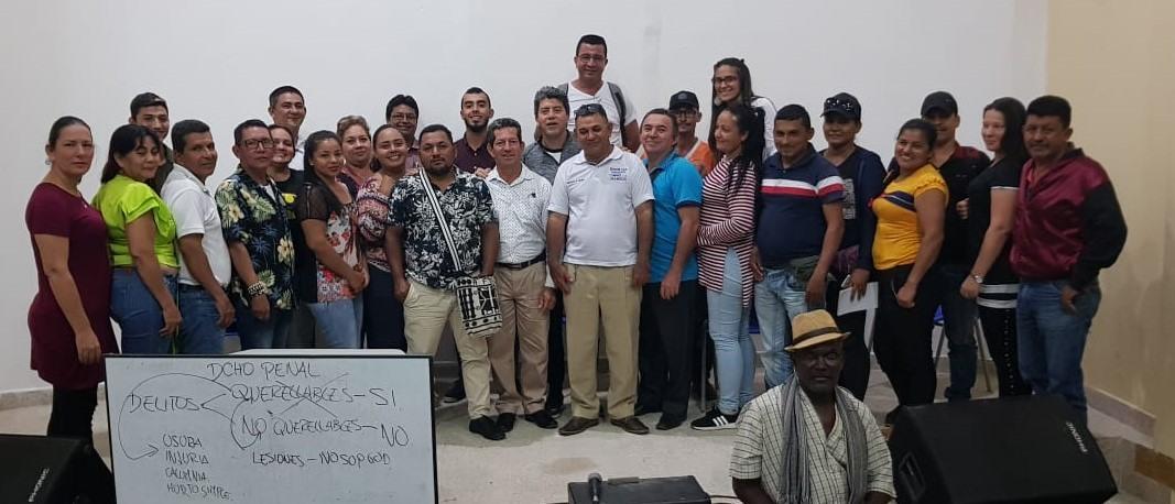 268 líderes ofrecerán sus servicios gratuitos de Conciliación en Equidad los departamentos de Catatumbo y Putumayo